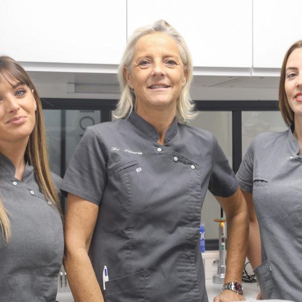 L'équipe du cabinet orthodontique du Dr Séverin à Paris 8
